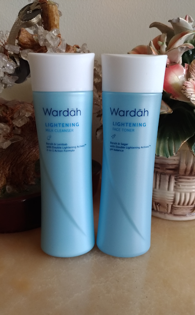 Paket Duo Wardah Lightening Face Toner Dan Milk Cleanser | Kebayoran Lama