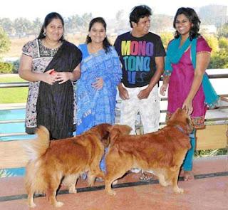 Shivrajkumar ,Geeta,Niveditha and Nirupama