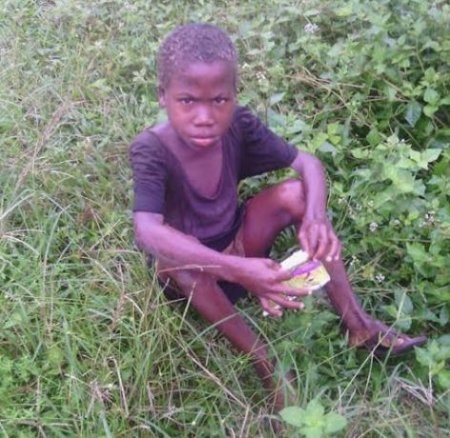 6-year-old Boy Accused of Witchcraft By Stepmum Survived in Bush For a Year [PHOTOS]