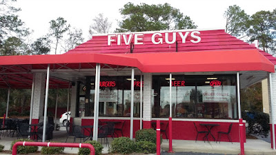 My local Five Guys Restaurant in Savannah, GA