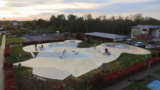 skatepark magny le hongre