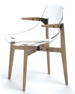 Seduta in plastica Aka ideata da Jean Marie Massaud per Skitsch