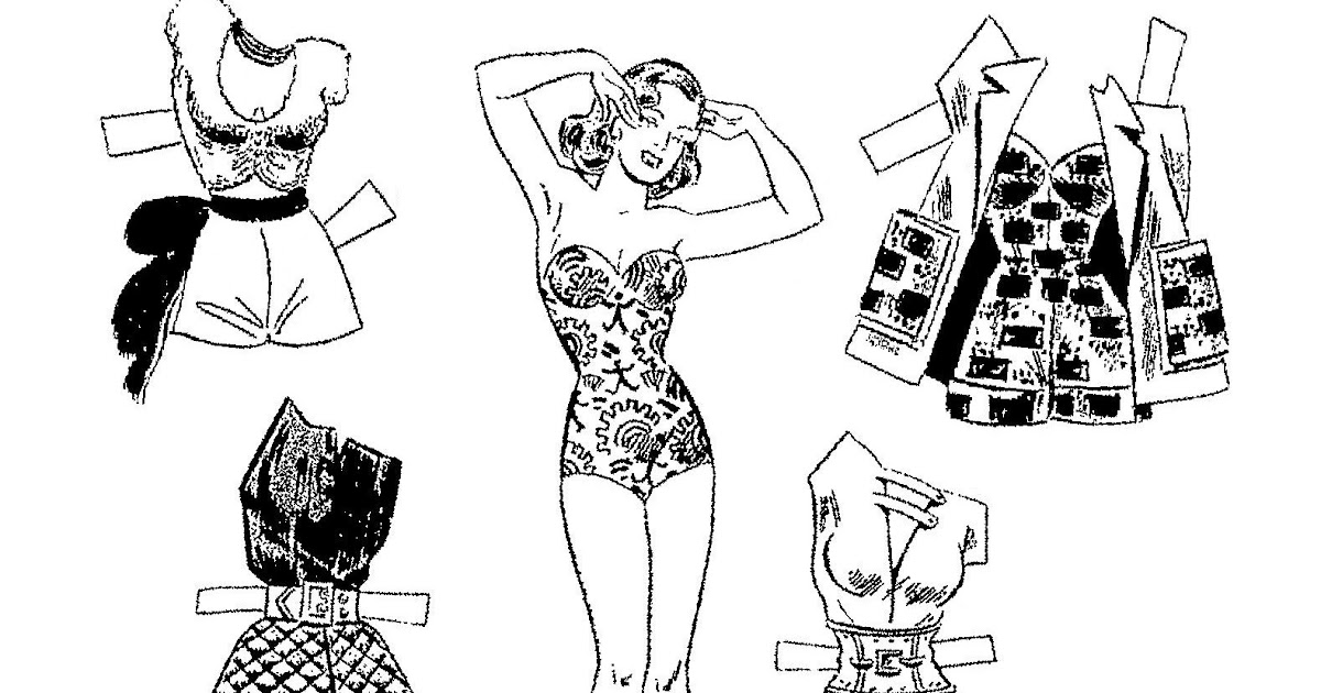 Mostly Paper Dolls Too!: BRENDA STARR Paper Doll