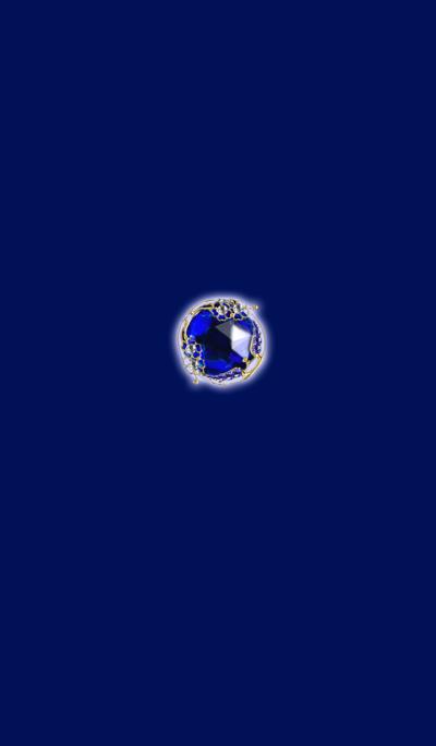 Eye is healed Jewel Blue