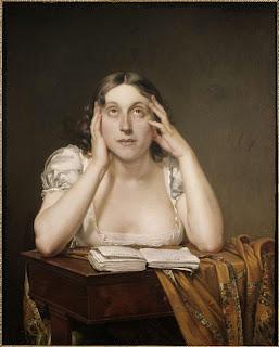 Constant Desbordes (1761-1828) - Marceline Desbordes-Valmore - Huile sur toile - Douai, Musée de la Chartreuse.