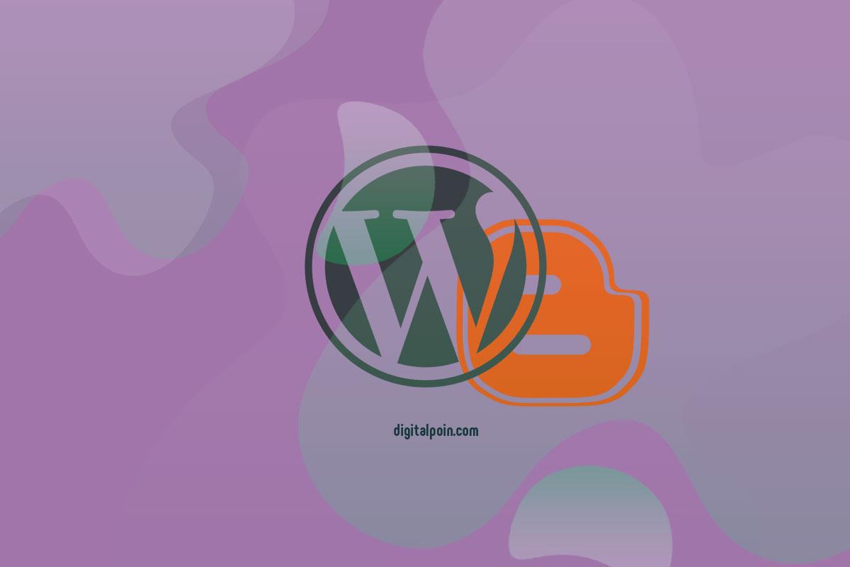 Cara Membuat Blog Blogspot Wordpress Dalam 1 Domain & Hosting