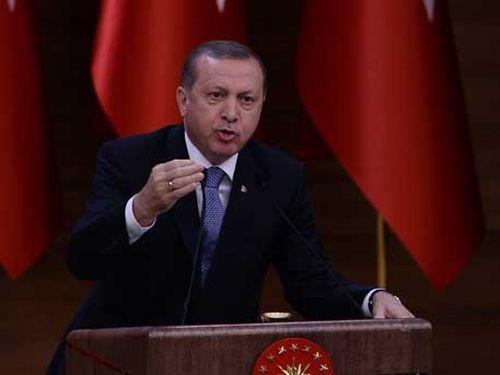 Ердоган не е съгласен с прекратяването на огърня в Сирия