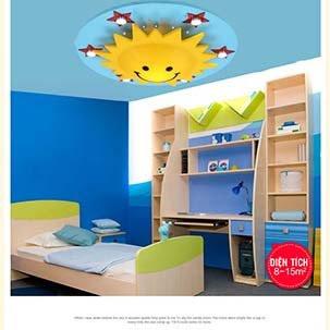 Hướng dẫn cách lựa chọn, lắp đặt đèn trang trí an toàn cho phòng trẻ em