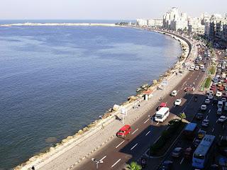 Corniche Alexandria - Alexandria attractions