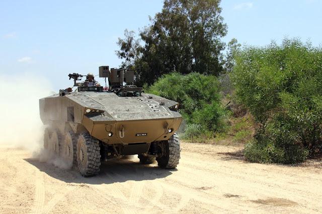 تعرفوا إلى ناقلة الجنود المدرّعة الجديدة في الجيش الإسرائيلي CoxAhO3XgAAcJQf