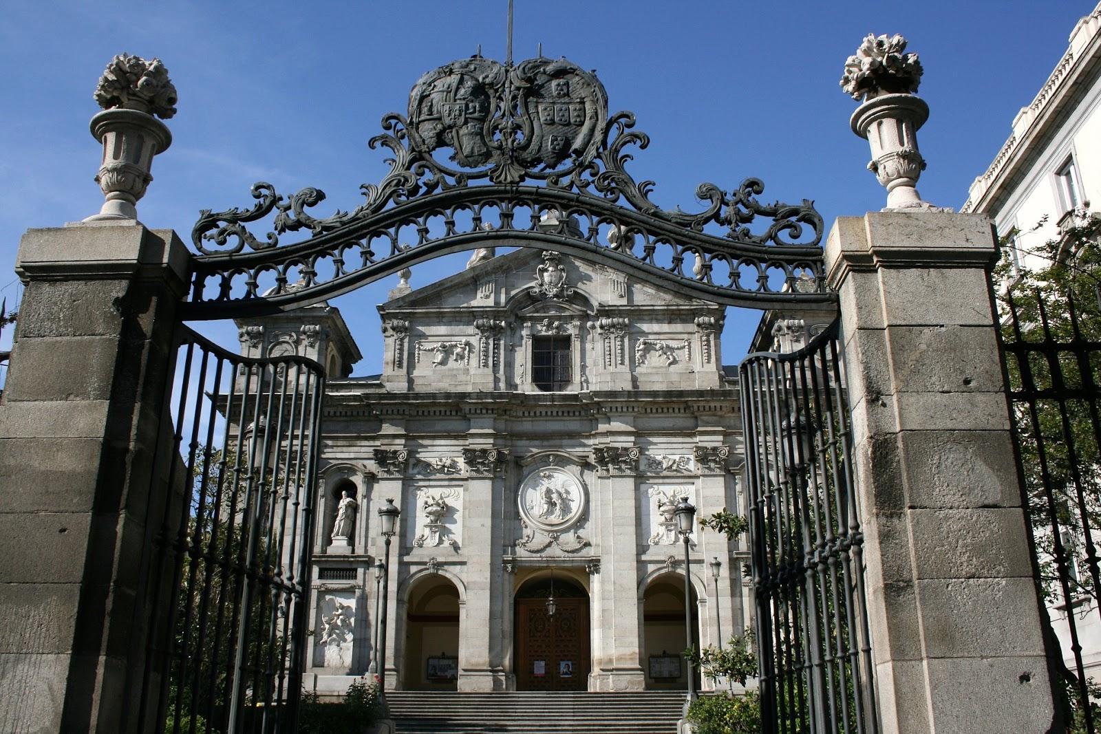 lugares sacros las salesas reales de madrid