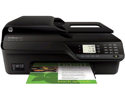 Wireless Color Photo Printer amongst Scanner HP Officejet 4620 Driver Downloads