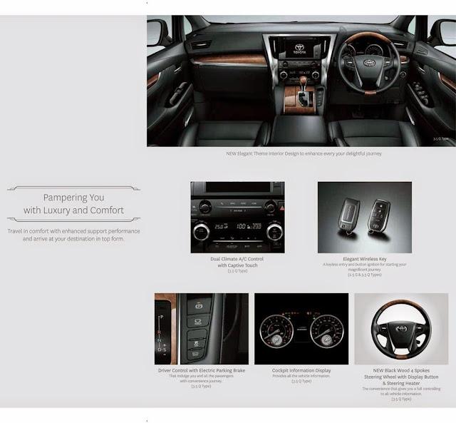 luxury interior new-alphard