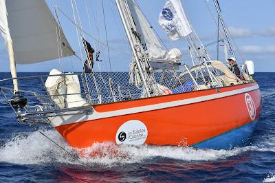 Istvan Kopar devrait atteindre les Sables d'Olonne à 9h00 UTC le 21 mars