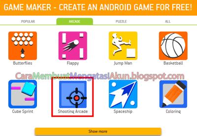 cara membuat aplikasi game android