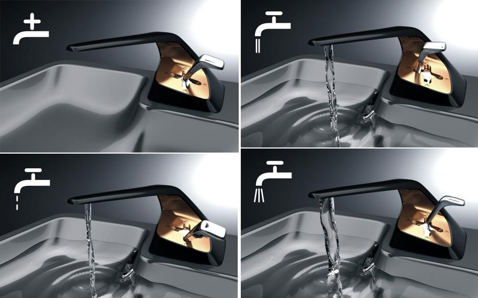 Kitchen Faucet Takes A Second To Pour Water