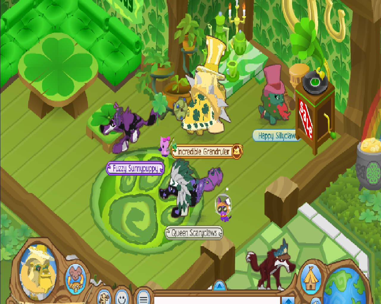 Desk And Chair Animal Jam High Heel Shoe Value City Fire Lucky Party