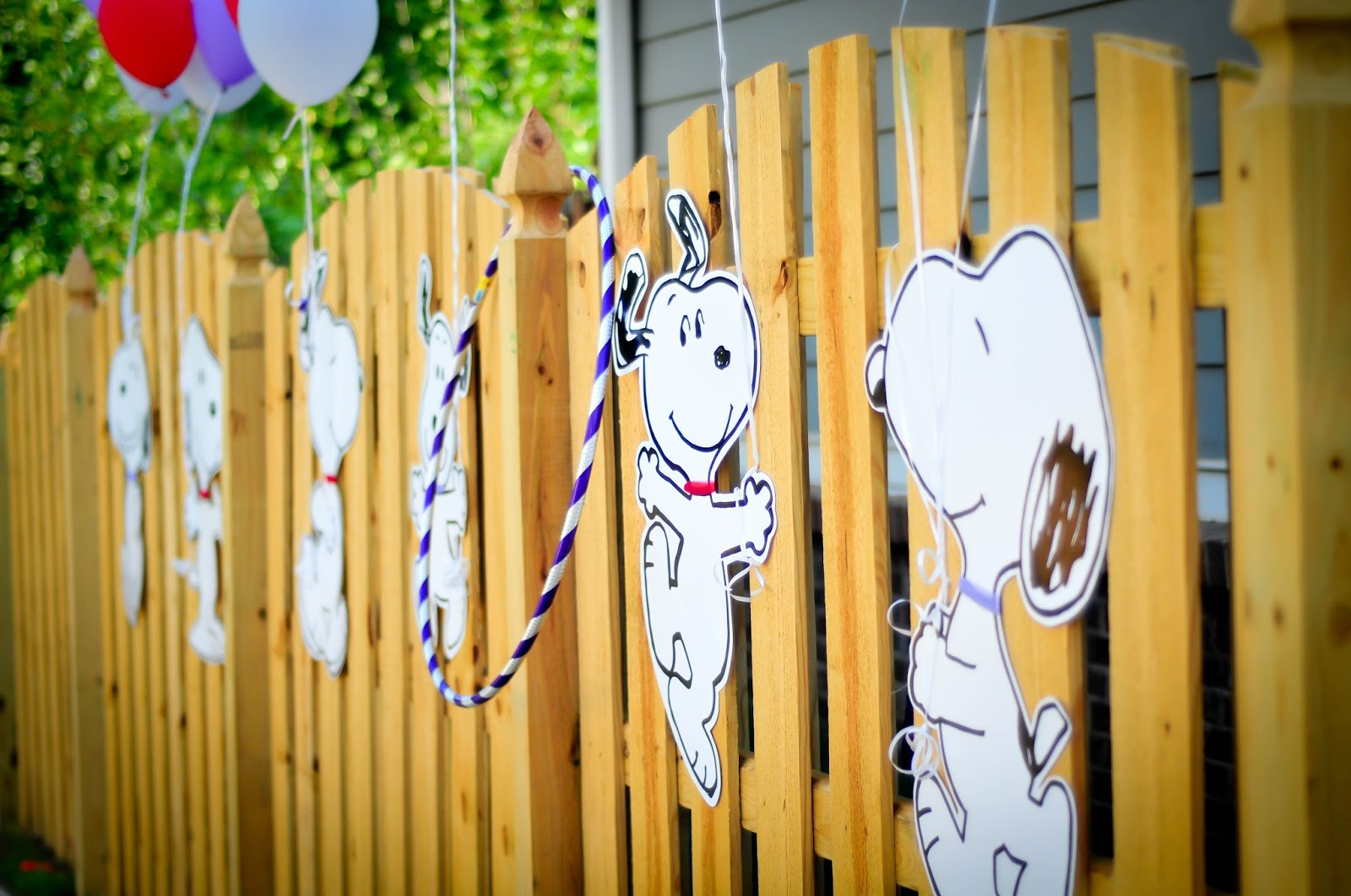 Living Is Easy Planning For A Snoopy Birthday Party