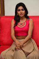 Akshita super cute Pink Choli at south indian thalis and filmy breakfast in Filmy Junction inaguration by Gopichand ~  Exclusive 088.JPG