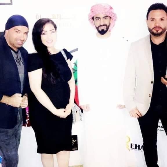 تكريم أهل الفن في العرس الخليجي في مدينة العين