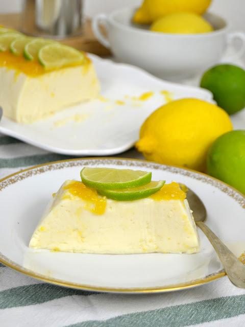 Flan de leche condensada y limón ¡Sin horno!