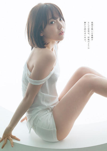Miyawaki Sakura 宮脇咲良 Black or White Images
