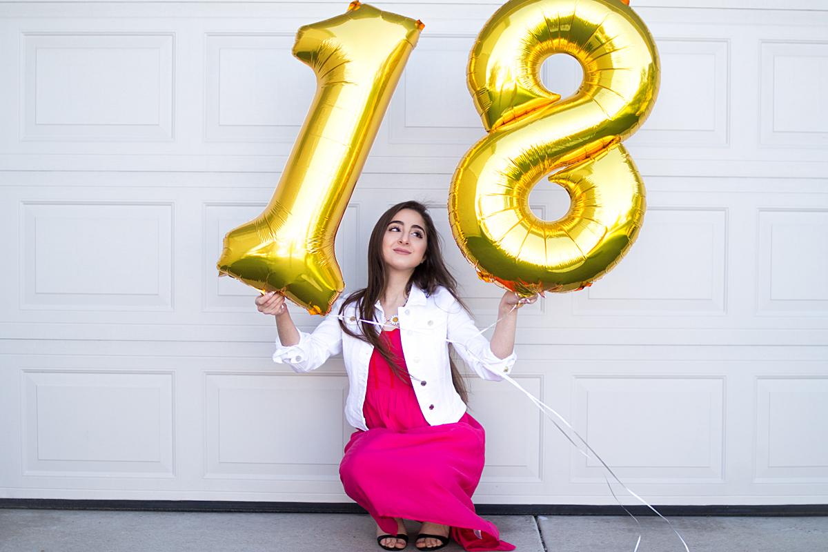 18 лет день рождения фотосессия