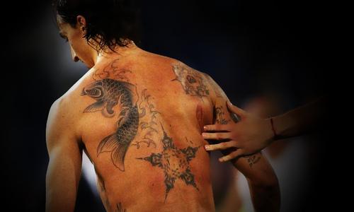 Tattoo Zlatan Ibrahimo...