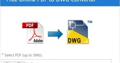 تحويل ملف اوتوكاد الى pdf
