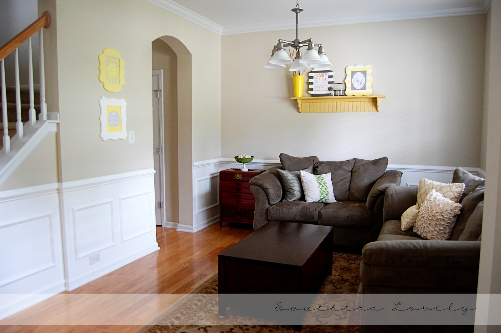 Small Living Room Diy Arrange With Fireplace And Tv Remodelaholic Wainscot