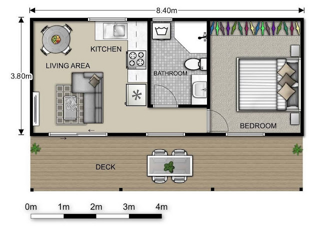 granny pods med cottages floor plans