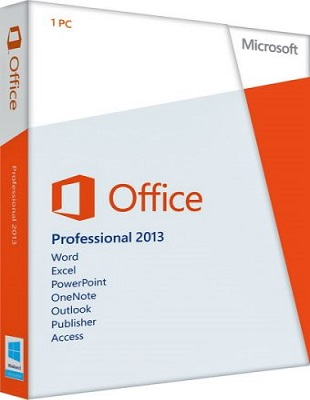 Microsoft Office 2013 SP1 Professional Plus + Visio Pro + Project Pro 15.0.4903.1000 poster box cover