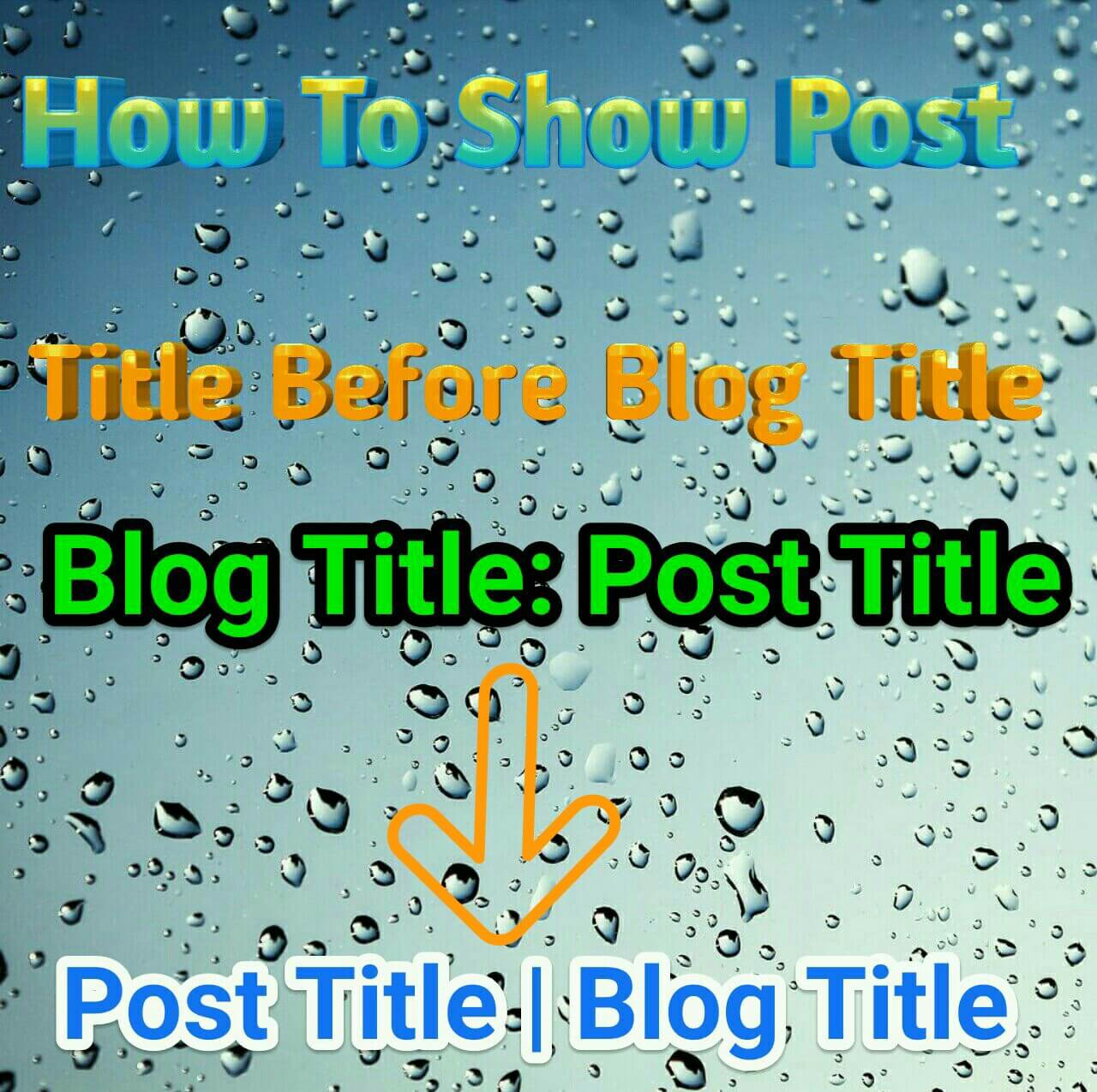 show-post-title-before-blog-title-in-blogger