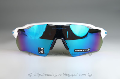c6976a02db oo9208-4738 Radar EV Path polished white + prizm sapphire snow iridium  265  lens pre coated with Oakley hydrophobic nano solution