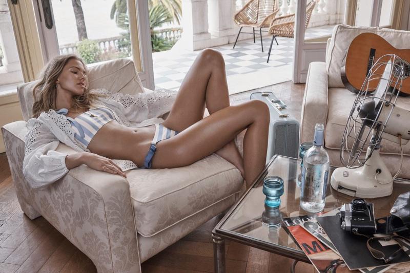 Zimmermann's Resort 2018 Swimwear Campaign