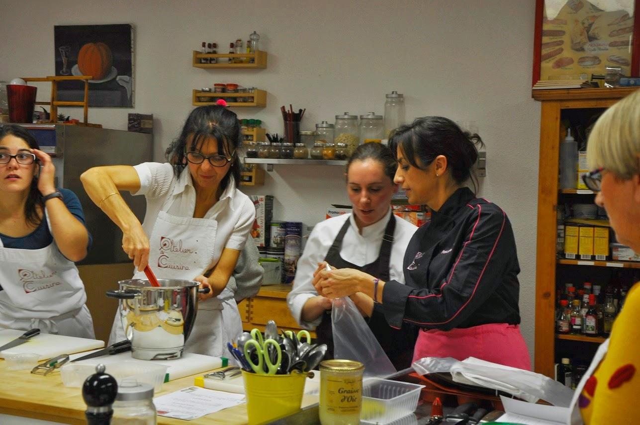Chateau bellevue cours de cuisine 4 mains - Atelier de cuisine en gascogne ...