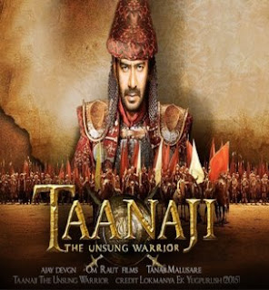 Taanaji The Unsung Warrior (2019) Official Poster