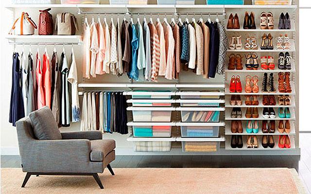 16 id ias de closet decora o e inven o - Guardar bolsos en armario ...