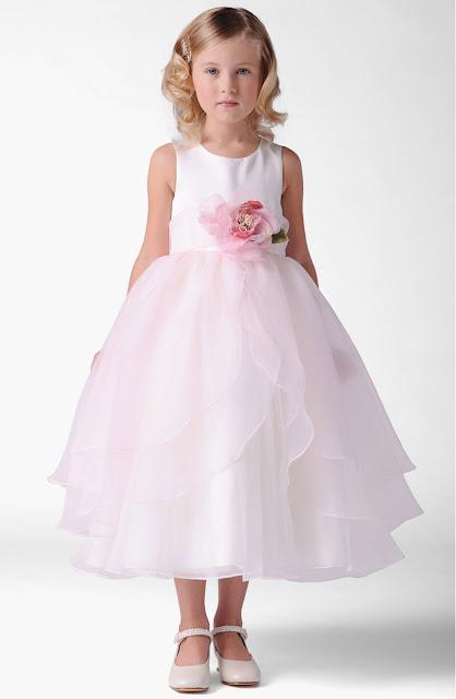 vestidos de primera comunion con alforzas