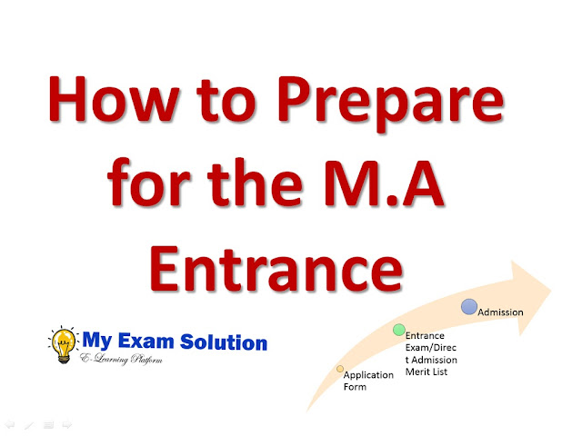prepare for m.a delhi university, jnu entrance, my exam solution