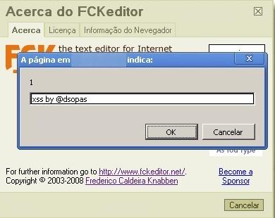 David Sopas - hacking web apps: XSS on FCKeditor