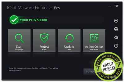 IObit Malware Fighter Pro 2.4.1.14 final + serial key