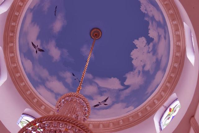 Lukisan Awan Kubah Masjid