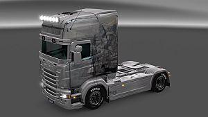 Fallen Heros skin for Scania RJL