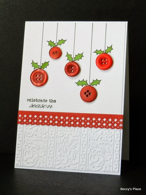 Homemade Craft Button Cards Make Your Own