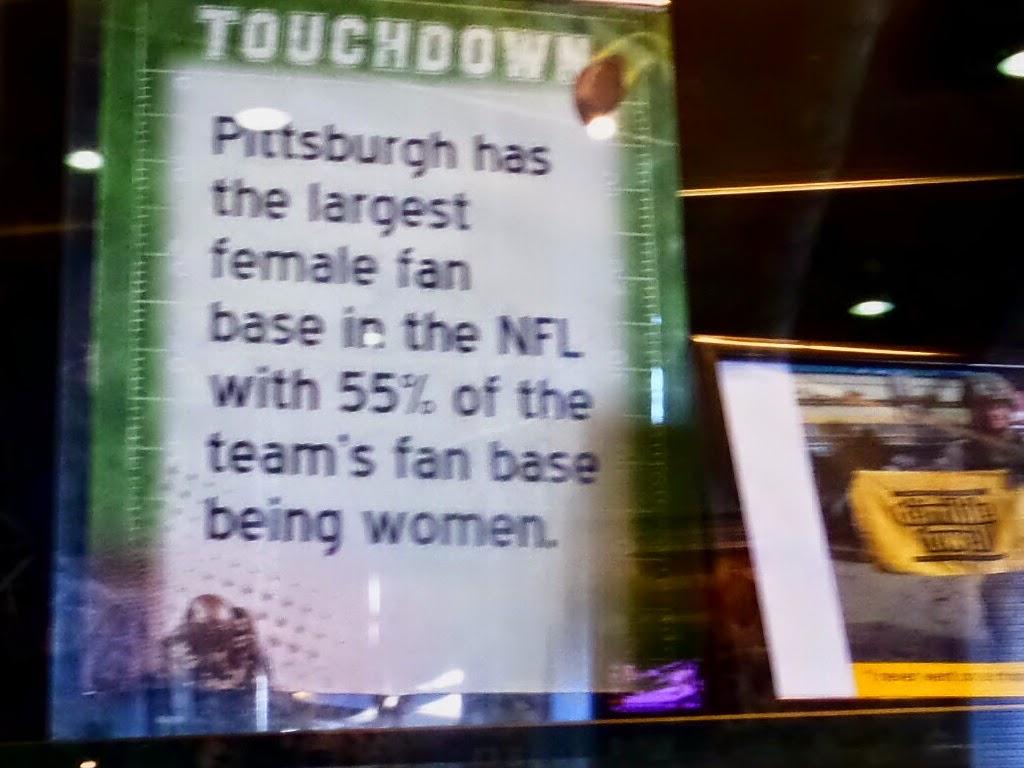 Steelers Largest Female Fan Base