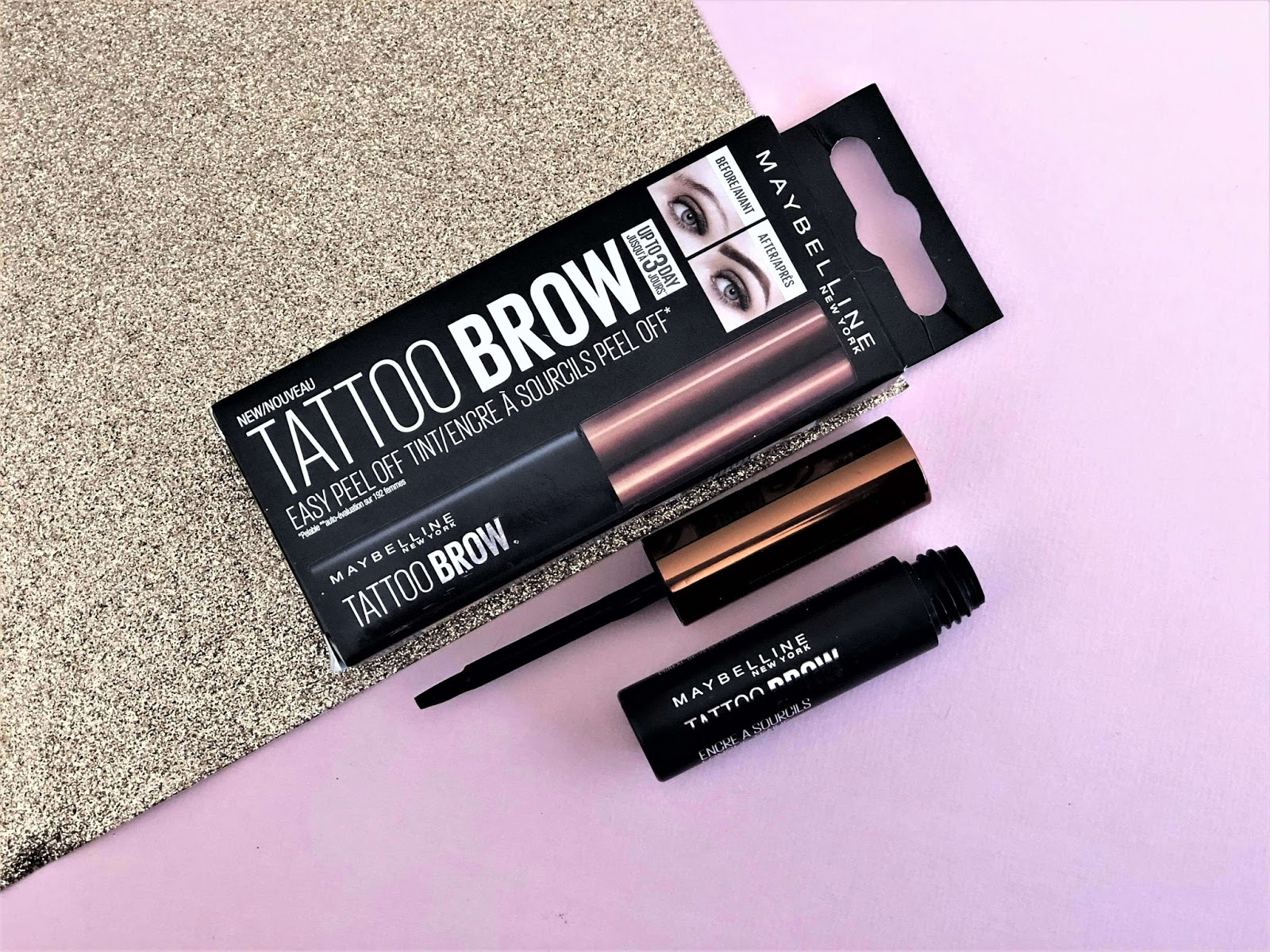 Tatoo Brow de Maybelline alt crash test