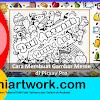 Tutorial Cara Bikin Gambar Doodle Art Name di Aplikasi Picsay