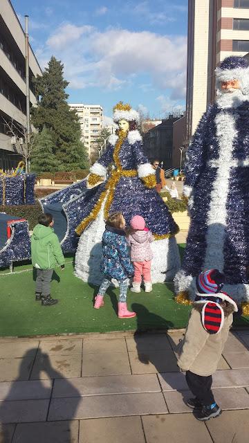 Yambol, Children, Love, Blue Santa,