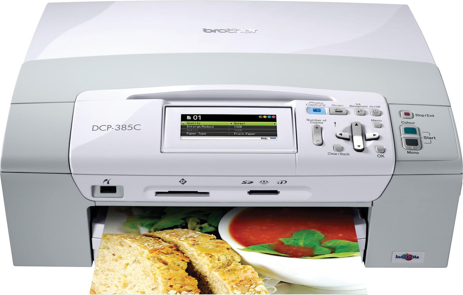 Brother dcp-385c multifunction colour inkjet printer *refurbished.